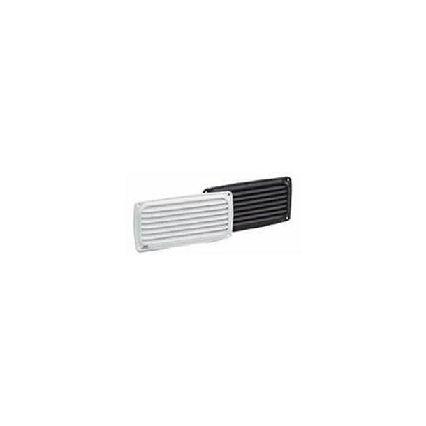 Ventilatorrist hvid ABS 140x125mm