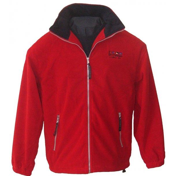 Fleece Windstopper jakke rød