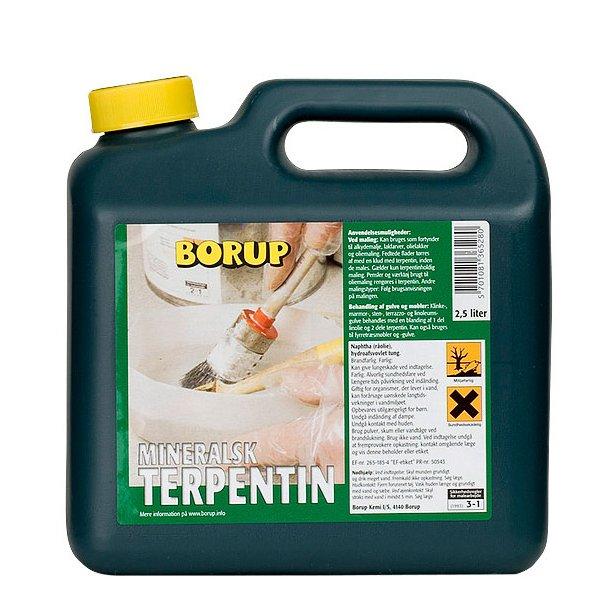Terpentin Mineralsk 2.5 ltr.
