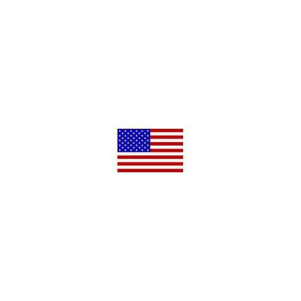Gæsteflag USA trykt 30x45cm