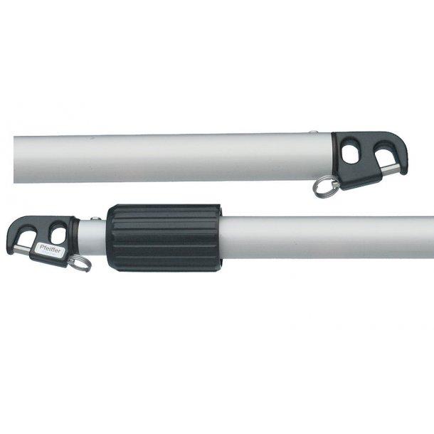 Spilerstage teleskopisk 2.50-4.50m
