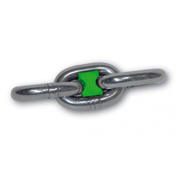 Kæde markering 8mm grøn 10 stk.