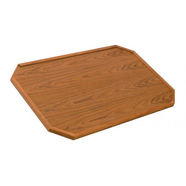 Bordplade Teak 85x50 cm
