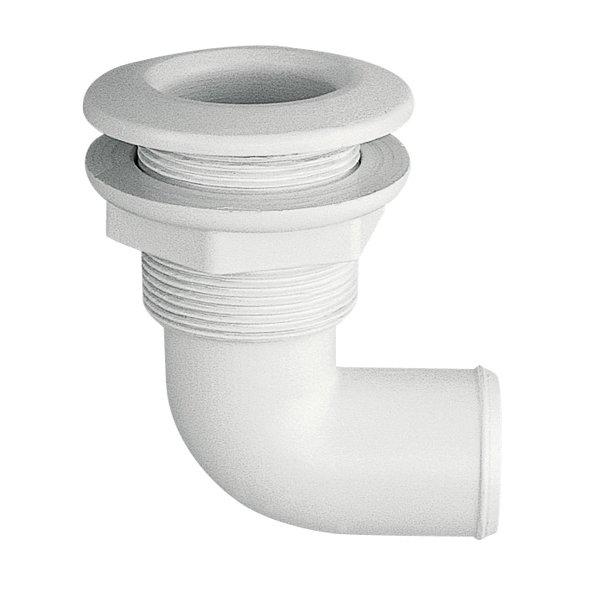 Skroggennemføring 90gr.PVC Ø.53mm