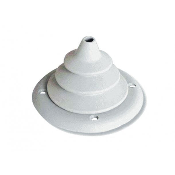Kabelmanchet Ø.105mm hvid