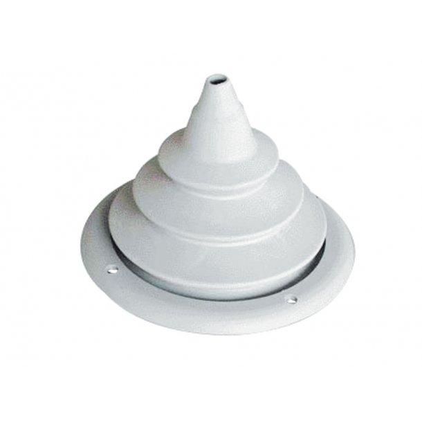 Kabelmanchet Ø.150mm hvid