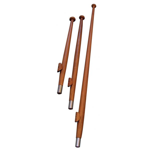 Flagspil teak L.60cm Ø.25mm