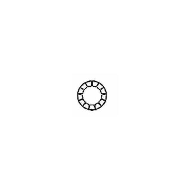 Tandskive indv. rf. M12 5/stk