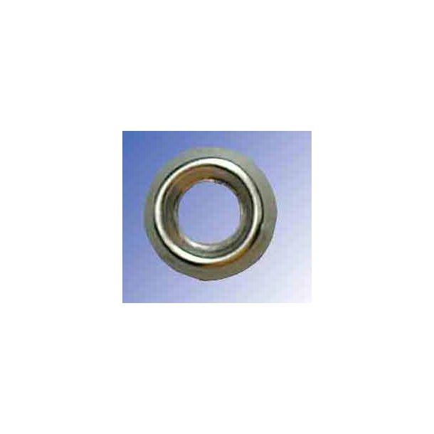 Roset forniklet nr. 6-4.5mm 6/stk
