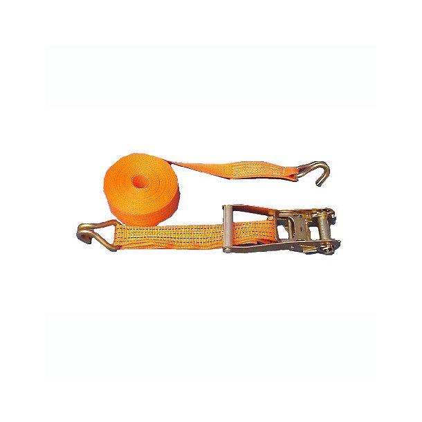 Spændestrop m/skrælle B.25mm L.0.4+4.6m