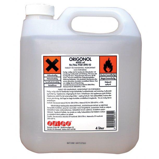 Origonol brændstof 4 ltr.