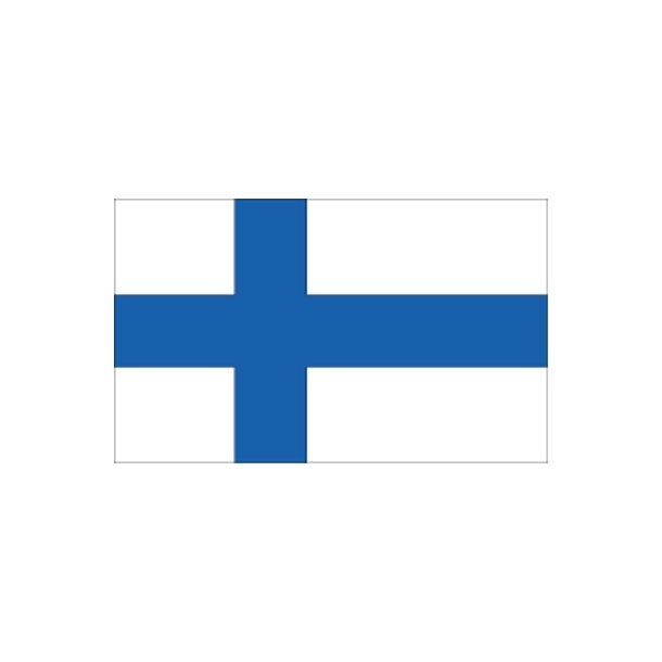Gæsteflag Finland trykt 30x45cm