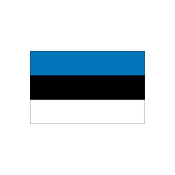 Gæsteflag Estland trykt 30x45cm
