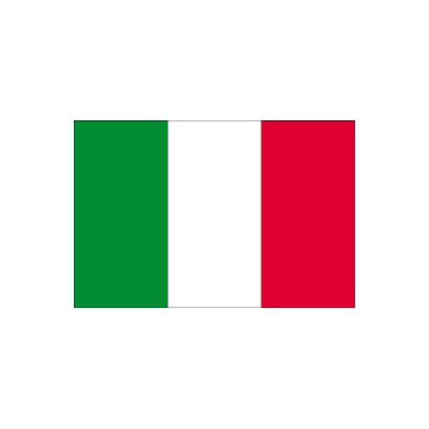 Gæsteflag Italien trykt 30x45cm