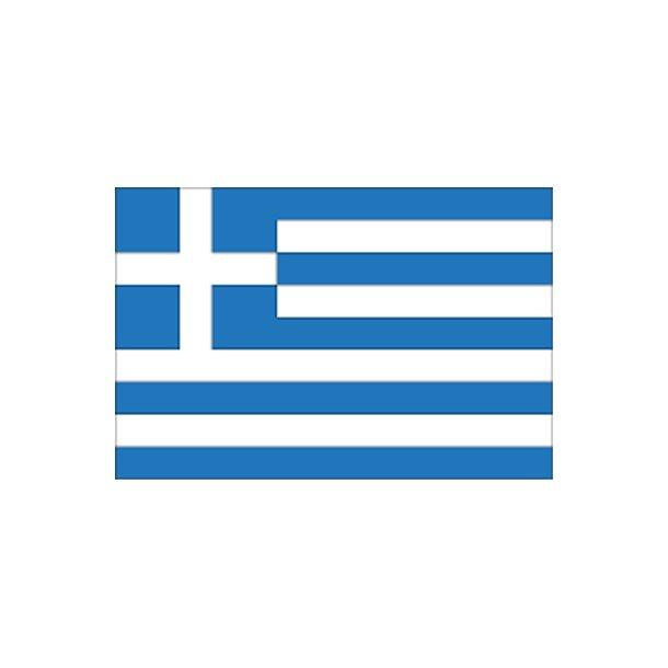 Gæsteflag Grækenland trykt 30x45cm