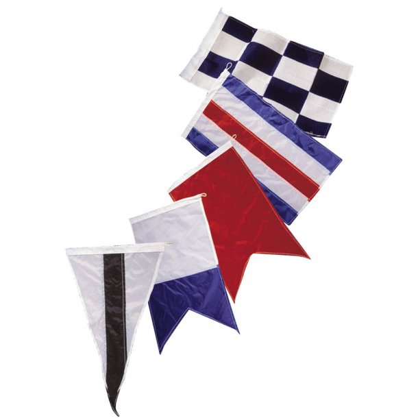 Signalflag vævet 30x45cm 40 stk