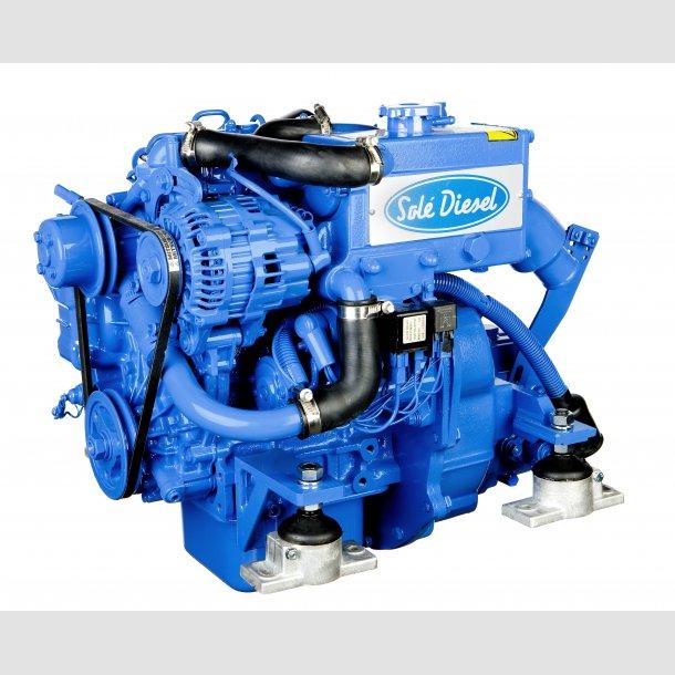 Solé Diesel MINI 33 med kitsæt til diverse drev: