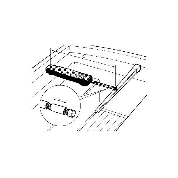 Raymarine Forlænger 25 mm
