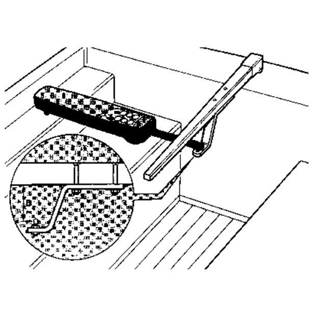 Raymarine Bøjle ror 25 mm