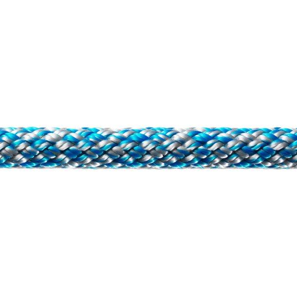 SIRIUS 500 m/sjækel blå/sølv Ø 12mm