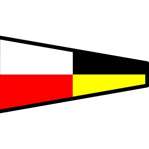 Signalflag vævet 30x45cm 9