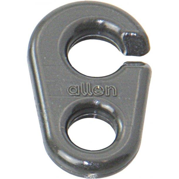 Spiler/flagline-clips L. 25mm nylon