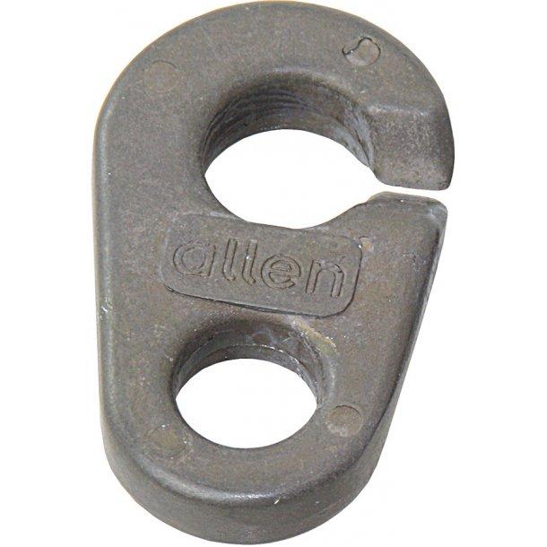 Spiler-clips L. 50mm alu.