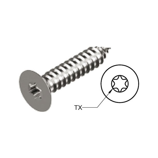 Selvskær.skrueUS-3.5x19 10stk TX15