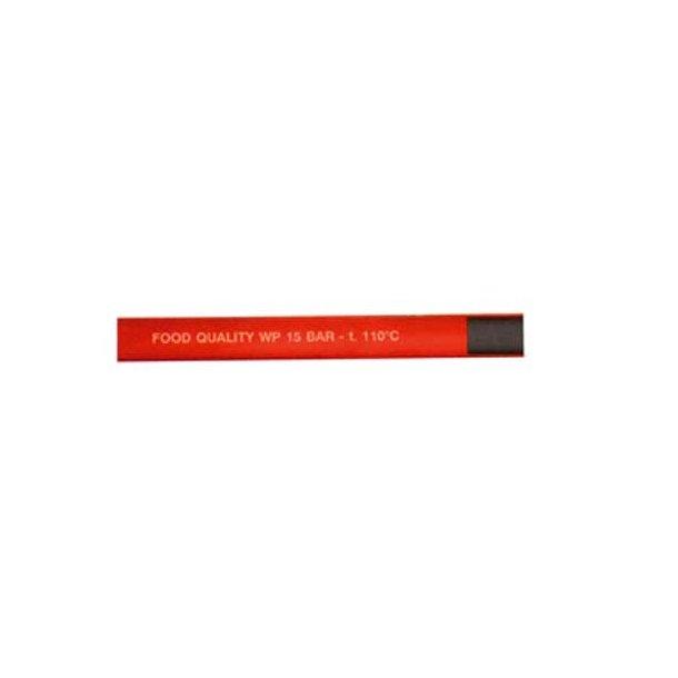 Varmvandsslange 13mm Rød