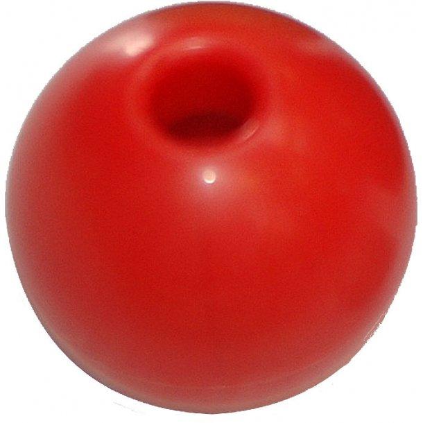 Kugle for Ø.4mm line rød pr. 2 stk.