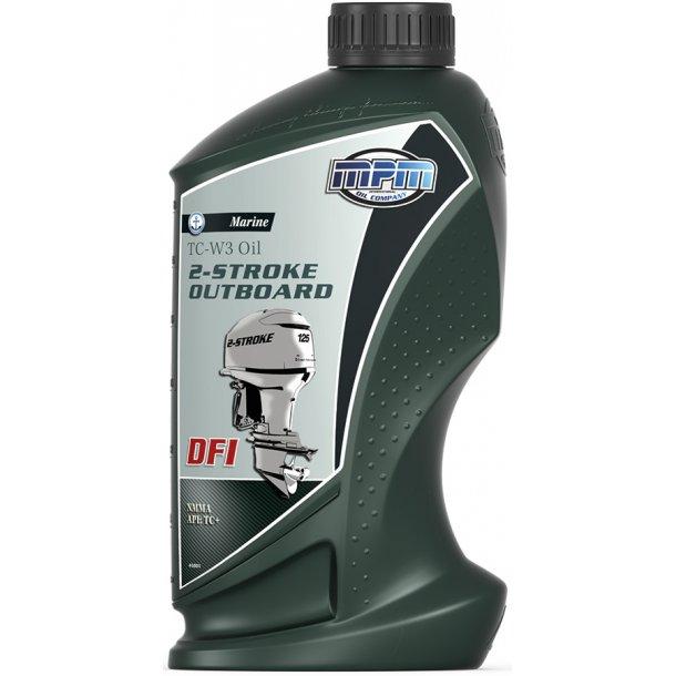 MPM olie TC-W3 2-takt DFI 5 ltr.