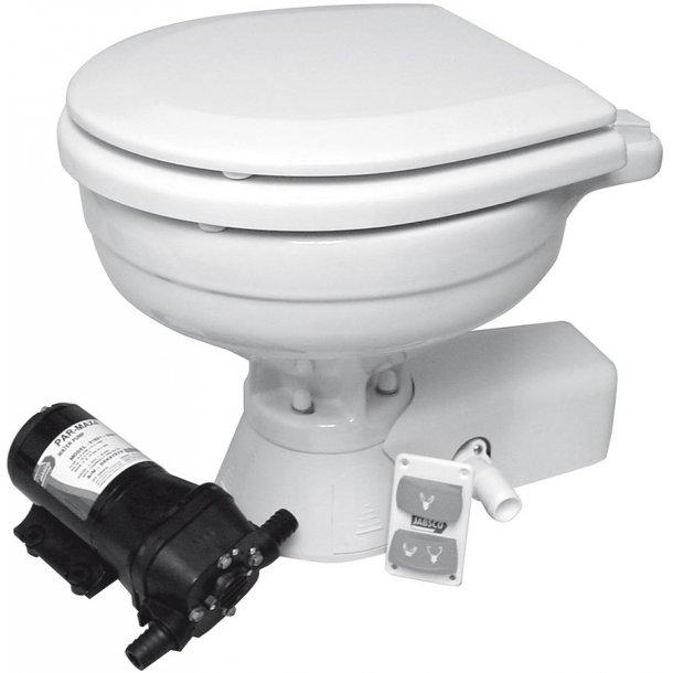 ITT-JABSCO toilet Quit Flush st.skål 12V