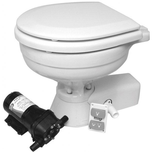 ITT-JABSCO toilet Quit Flush st.skål 24V
