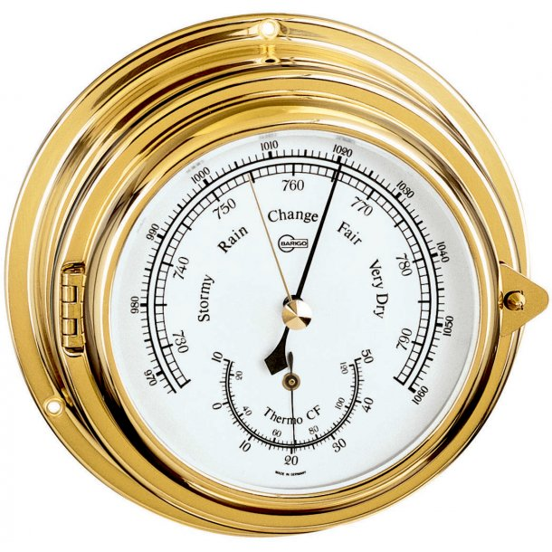 Baro-/Termometer Ø150xD70xS100mm