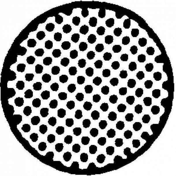 Svampegummisnor sort Ø dia. 8mm