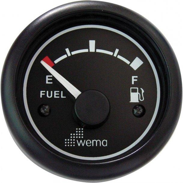 Wema brændstofmåler STD 0-190 ohm