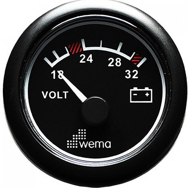 Wema Voltmeter Std. 16-32V