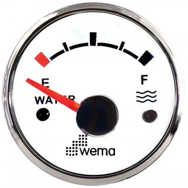 Wema vandtankmåler Hvid 0-190 ohm