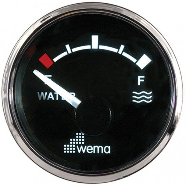 Wema vandtankmåler RF/sort 240-30 ohm