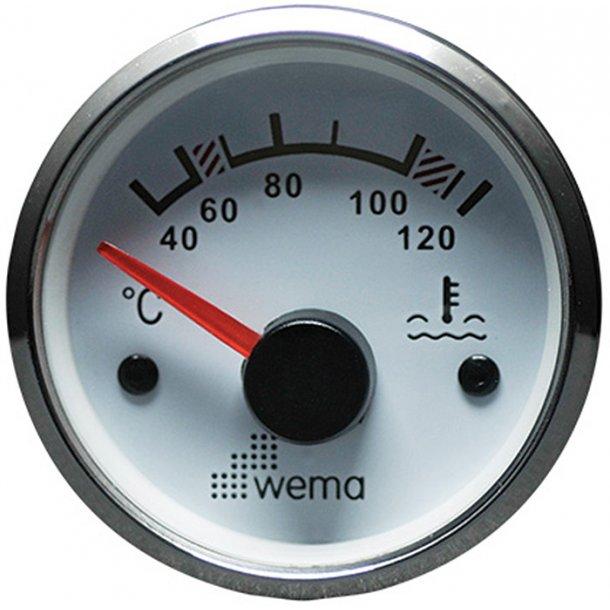 Wema Vandtemp. RF/hvid 40-120 gr.